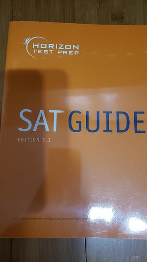 SAT Guide Edition 2.3 by Horizon Test Prep for Sale in Ontario, CA