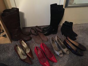 Boots, heels, shoes lot- size 10 for Sale in Haltom City, TX