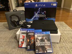 PS4 1TB w/ Astro A20 Wireless Headset & Games for Sale in Chula Vista, CA