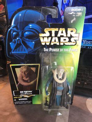 Star Wars POTF Bib Fortuna Action Figure Hologram card for Sale in Fresno, CA