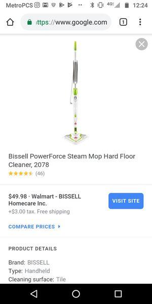Bissell steam mop for Sale in Davie, FL