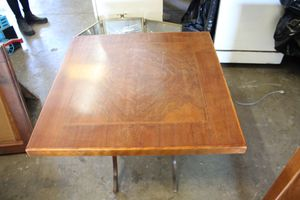 Vintage wood folding card table for Sale in Fontana, CA