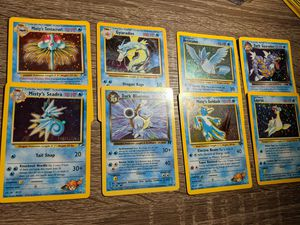 Holo Pokemon cards 1 non holo for Sale in Brooklyn, NY