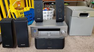 Sony Digital Audio / Video Home Theater 5.1 Stereo Receiver and speakers for Sale in Richardson, TX