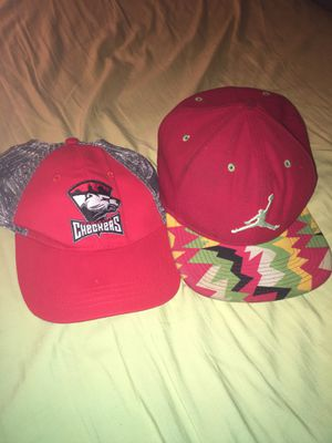 Jordan hat & a Charlotte checkers hat for Sale in Charlotte, NC