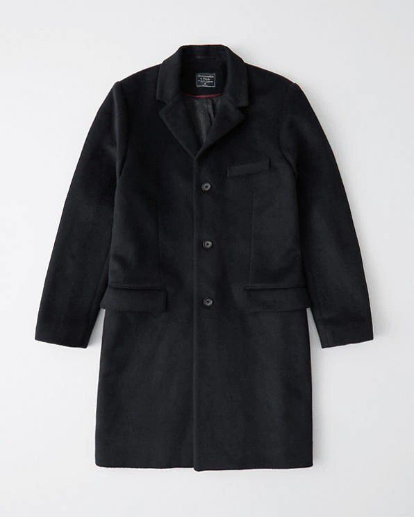 Abercrombie & Fitch mens trench coat!! NEW!!
