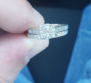 Size 7 diamond engagement ring for sale for Sale in Derby, KS