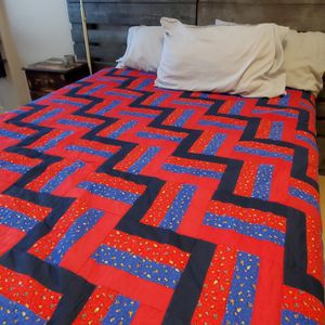 Hand Stitched King Size Quilt for Sale in Houston, TX