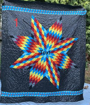 ****NEW***** . All quilts are machine pieced , machine quilted using 💯 % cotton fabrics . Batting is a 80/20 cotton/poly , low loft ( 5.0 oz ) for Sale in Lynnwood, WA