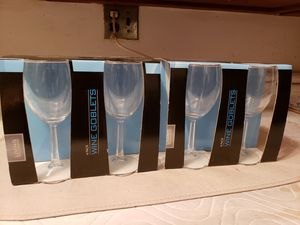 Brand new wine glasses for Sale in Arlington Heights, IL