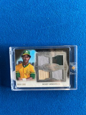 1 baseball card jersey card make me an offer for Sale in Gilroy, CA