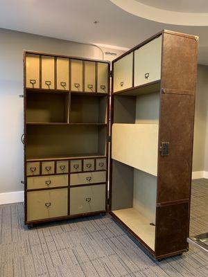 Restoration Hardware - RH - Steamer Trunk Vintage Secretary Desk/Chair - $1100 OBO (Northern Virginia) for Sale in Alexandria, VA