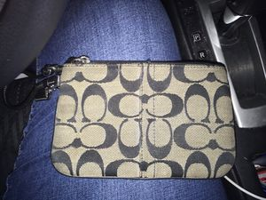 Coach wristlet for Sale in Boston, MA