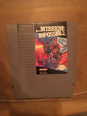 Nintendo nes mission impossible for Sale in Visalia, CA