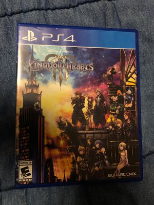Kingdom hearts 3 Ps4 new for Sale in Fresno, CA