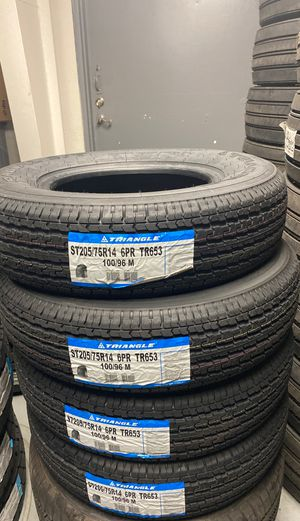 ST 205/75/14 **6-ply** BRAND NEW TRAILER TIRES FOR SALE TXT OR CALL FOR A QUOTE for Sale in Sacramento, CA