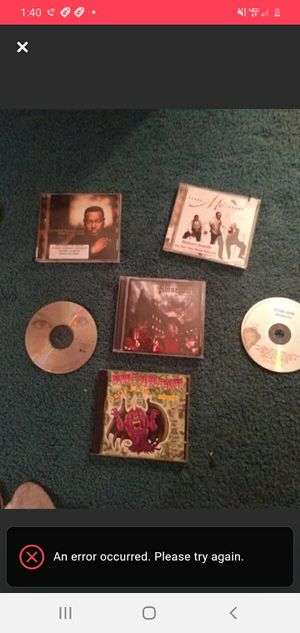 Lot of CDs for Sale in Lacon, IL