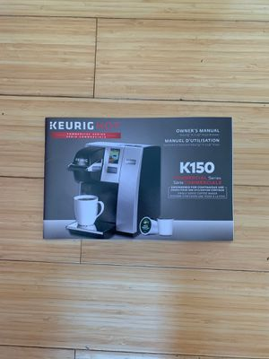 Keurig model k150 commercial brewer coffee machine for Sale in Los Angeles, CA