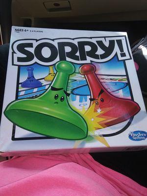 Sorry Board Game for Sale in Oklahoma City, OK
