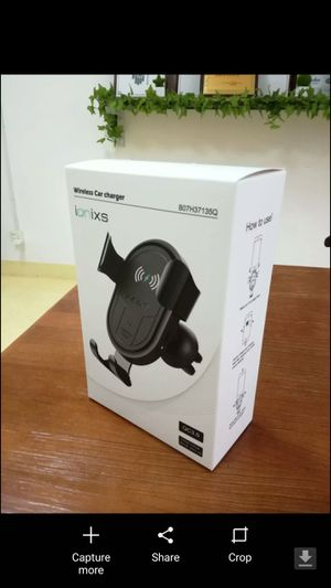 Wireless Car Charger - Brand new / open box for Sale in Homestead, FL