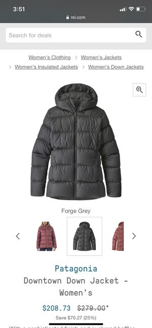 Woman's Patagonia jacket for Sale in Redmond, WA