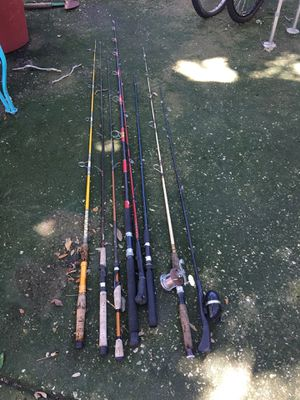 Used fishing poles for Sale in Palm Harbor, FL