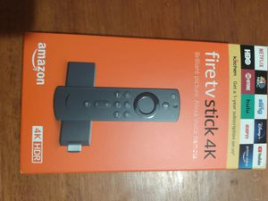 Amazon Fire stick 4k with Alexa ( special) for Sale in Port St. Lucie, FL