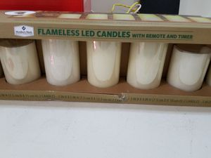 Flameless led candles original new for Sale in Broadlands, VA