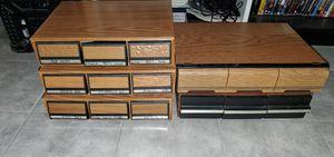 Cassettes holder boxes for Sale in San Bernardino, CA