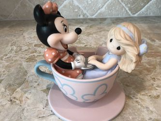 Disney Precious Moments You Are My Cup Of Tea Missing Mouse for Sale in Rancho Santa Margarita,  CA