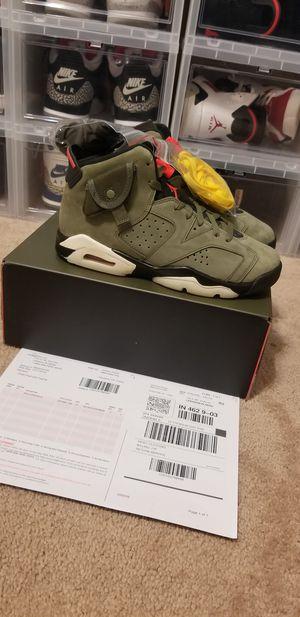 Jordan 6 Travis Scott Size 7y for Sale in Houston, TX