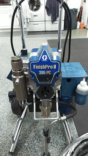 Almost brand new a Graco finishpro II 395 PC. It has a compressor for finish painting and pump for house painting$1499 for Sale in Seattle, WA