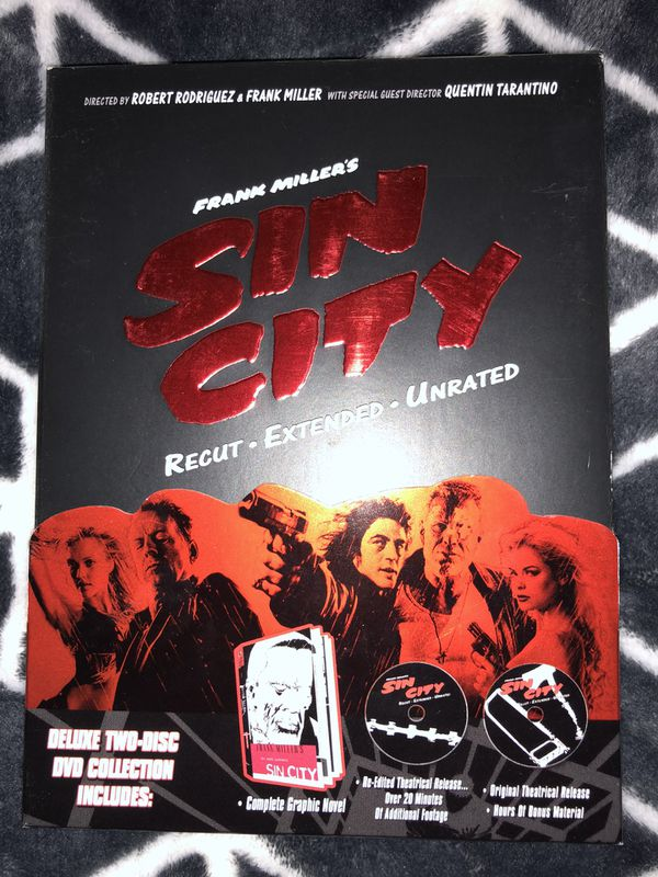 Sin City Deluxe Edition - DVD