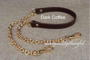 Dark Coffee PU Leather Chain Messenger Shoulder Bag Purse Strap for Sale in Seattle, WA