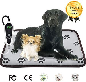 Heating Pad for Dogs Cats Electric Heated Pet Beds Mat with Timer Warming Pet Mats Safety Dog House Heated Waterproof Heated Dog Cat Blanket Heated for Sale in San Fernando, CA