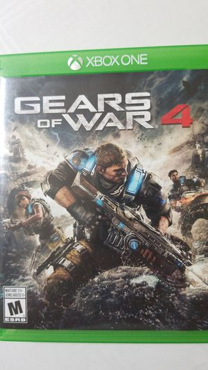 Gears of war 4 Xbox one games for Sale in Saginaw, TX