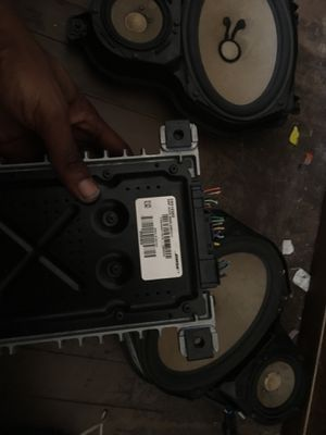 Complete Bose Speaker Set plus amp from an Impala Ltz for Sale in St. Louis, MO
