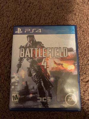 (PlayStation 4) battlefield 4 game. for Sale in Poway, CA