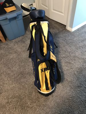 Top flex golf bag and clubs for Sale in Philadelphia, PA