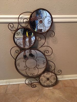 Wall mirror 38.5 inches tall an19in. Width for Sale in La Porte, TX