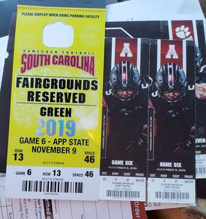 USC Gamecock Tickets for Sale in Columbia, SC