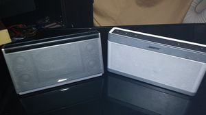 Two bose portable speakers with charger. for Sale in Boulder, CO
