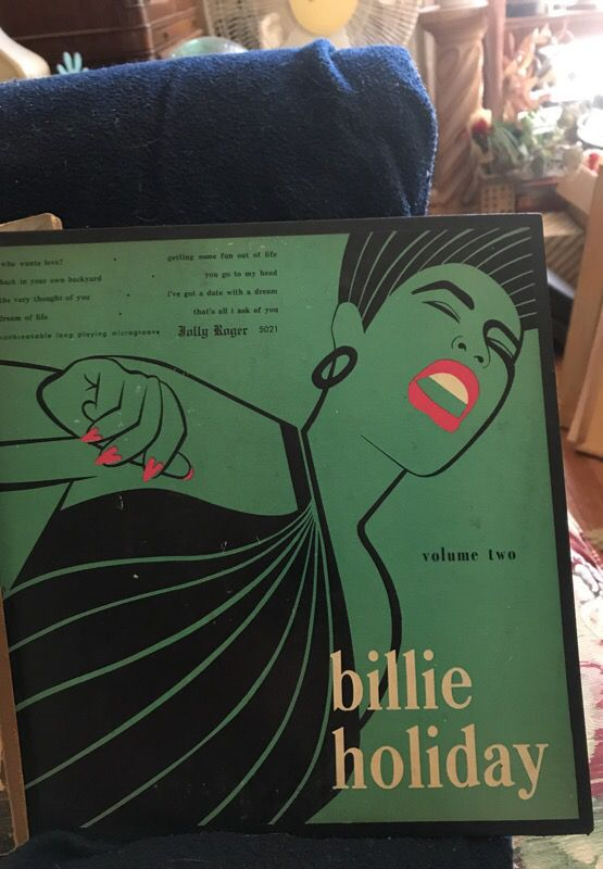Two albums of Billie holiday, famous jazz singer from the 40s