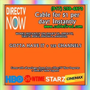 cable TV on your smart device for Sale in New York, NY