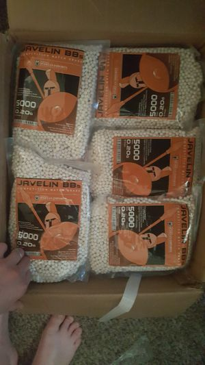 Javelin BBs (5000ct) for Sale in Middletown, OH
