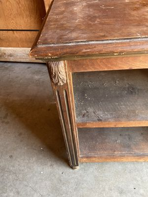 Antique cabinet - Needs to be refinished for Sale in Tacoma, WA