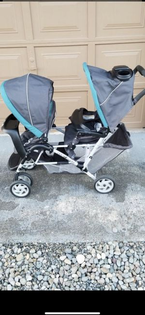 DuoGlider Click Connect Double Stroller for Sale in Lacey, WA