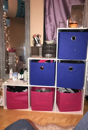 six box organizer shelf for Sale in Brooks, OR