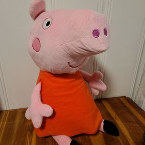 """PEPPA Pig 19"""" Pink Plush in Red Dress by Fiesta New With Tags for Sale in Omaha, NE"""