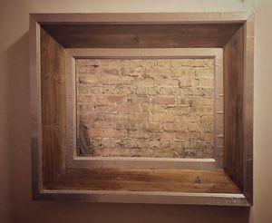 Distressed Wood Decor Mirror for Sale in Chicago, IL